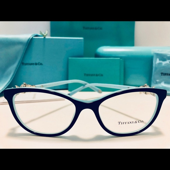 64e1c0733866 Tiffany   Co. Eyeglasses Black Blue Cat Eye 52mm.  M 5b2c3a05baebf6e40d5587ee. Other Accessories ...